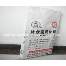 Printed White PP Woven Bag for Chemical Packaging