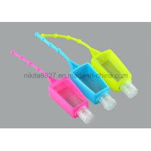 Suporte de garrafa sanitizer da mão do silicone (NTR07)