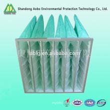 Sport sand blasting room pocket air filter