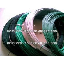 Fios de ferro fundido em PVC