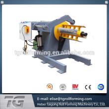 China steel produkte hot roller decoiler steel coil machine Mit optimaler Qualität