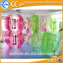 Fútbol barato de la burbuja del PVC / fútbol de la burbuja para la venta