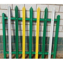 Arts&Crafts Galvanized Steel Palisade Fencing