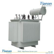 Transformateur triphasé de la tension de charge Transformateur de puissance immergé