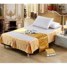 Vente en gros de jupe de lit d'hôtel populaire couette de lit de jupe