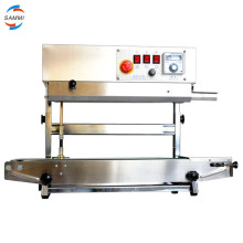 Newest good price natural continuous heat sealer sealing machine