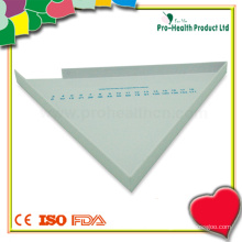 Dreieck Medizinische Kunststoff Pille Zähler Tablett
