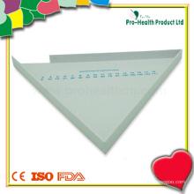 Треугольный медицинский пластиковый стаканчик для таблеток