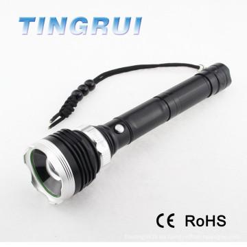 Linterna de alta potencia LED T6 linterna del fabricante