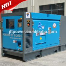 Три фазы переменного тока 25ква охлаженный водой тепловозный комплект генератора