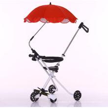 Cochecito de bebé Coche plegable plegable fácil Coche deportivo Carro más ligero Carro ligero