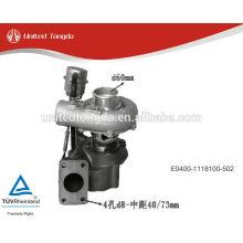 Yuchai moteur turbocompresseur YC4E E0400-1118100-502