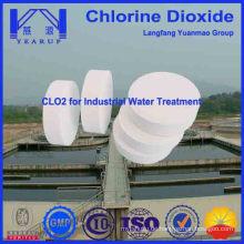 Freie Proben-Chlordioxid-Tablette für die Abwasserbehandlung