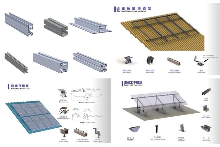 solar bracket rails