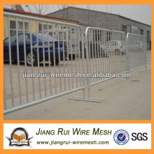 Crowd control barrier factory