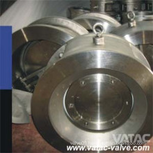 Soft or Metal Seat Single Disc Wafer Check Valve