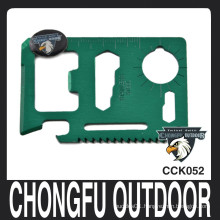 chongfu outdoor multifunction credit card knife wholesale