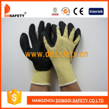 Gants de résistance à la coupure et à la chaleur, doublure en fibre d'aramide jaune -Dcr512