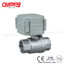 2PC Stainless Steel Electric Actuated Ball Valve