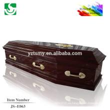 ataúd de la cremación de los muertos