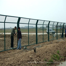 3m Height Airport Fence Welded Fence Panel / Welded Fence Mesh