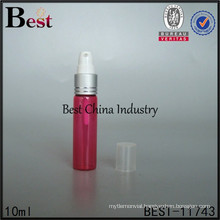 5ml 10ml 15ml 20ml 30ml red color glass perfume bottle, empty glass bottle for perfume from alibaba China