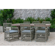 Timeless Synthetic Rattan Coffee/Dining Set For Outdoor Garden