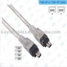 4pin zu 4-pin IEEE 1394 Link Fire Wire DV Kabel