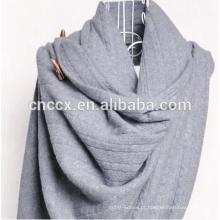 PK17ST262 puro 100% cashmere suéter cachecol