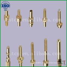 pinos de latão de fabricação de metal de precisão personalizado