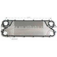 M6B relacionados 316 L placa e junta para trocador de calor de placas
