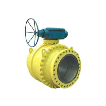 3 PC Flange tetap Ball Valve