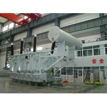 Transformador de potencia para planta de energía