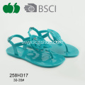 Hot New Summer Beautiful Girl Pvc Sandals