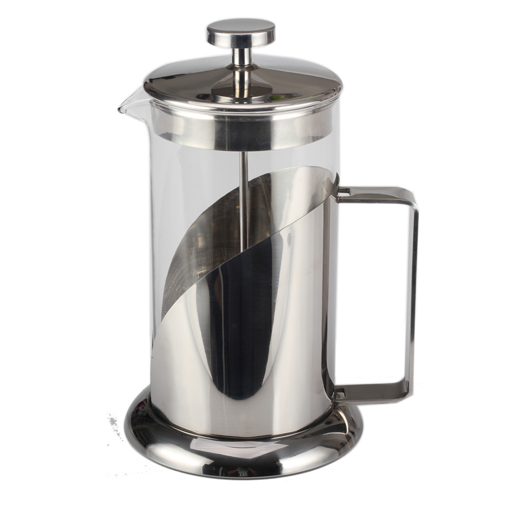 Borosilicate Glass French Press Coffee Kettle
