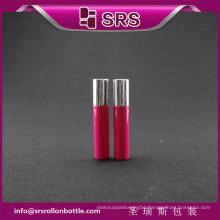 Plastic empty roller ball bottle of 10ml for free samples