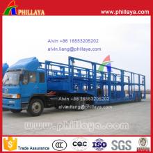 Porta-Carrier semi-reboque para Filipinas (6 carros)