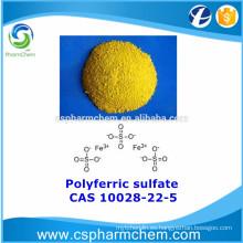 Sulfato poliférico, CAS 10028-22-5, PFS para tratamiento de agua
