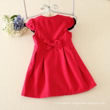 Guangzhou usine pas cher prix vêtements pour enfants filles en vrac production chaude vêtements robe enfants vêtements avec chapeaux matchdress