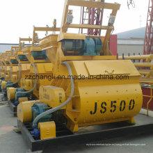 Js500 Pequeño Mezclador de Hormigón Precio, Auto Cargando Mezclador de Concreto