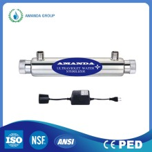 Drinking Water Treatment Ultraviolet Light Sterilization
