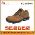 Nubuck Leather Steel Toe Deltaplus Safety Shoes