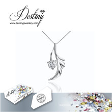 Destiny Jewellery Crystal From Swarovski Necklace Angel Pendant