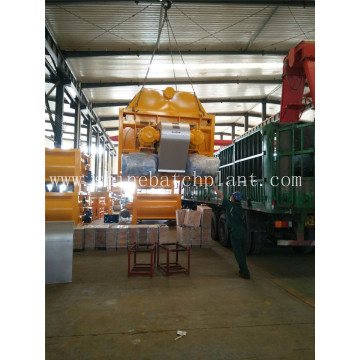 Betoneira JS2000 Twin Shaft