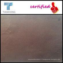 Spandex / coton tissu plat