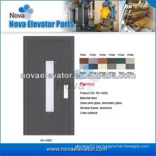 Puerta semiautomática de elevación para pequeños ascensores y ascensores domésticos