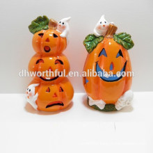 2015 light halloween ceramic pumpkin decor