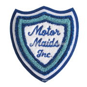 Wholesale Custom Embroidery Sew on Badge for Garment