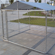 Galvanized Link Link Cage dengan Cover Protection UV