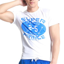 custom design casual style men's printed t-shirts